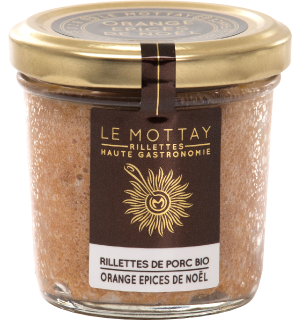Rillettes Apéritives - Orange confite et épices de Noël